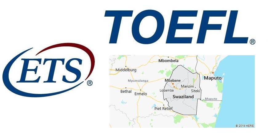 TOEFL Test Centers in Swaziland