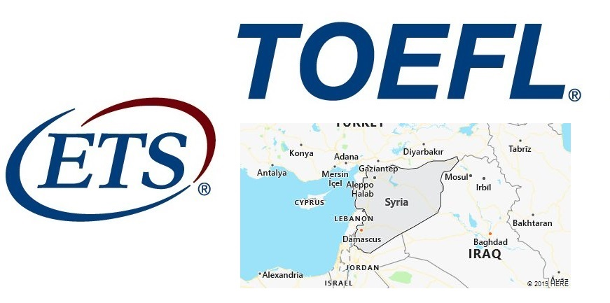 TOEFL Test Centers in Syria