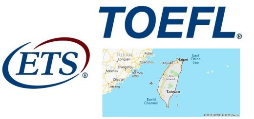TOEFL Test Centers in Taiwan, China