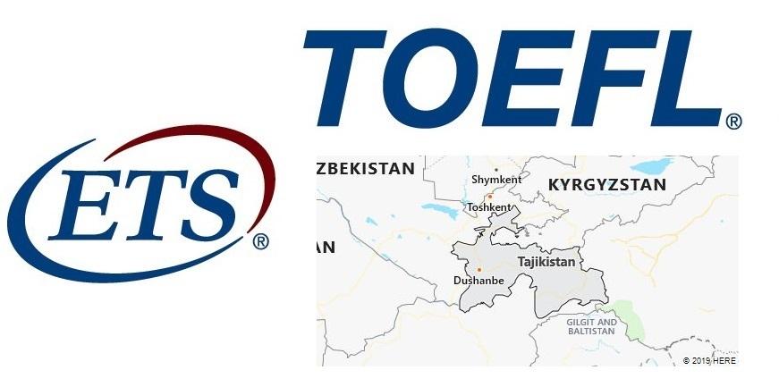 TOEFL Test Centers in Tajikistan