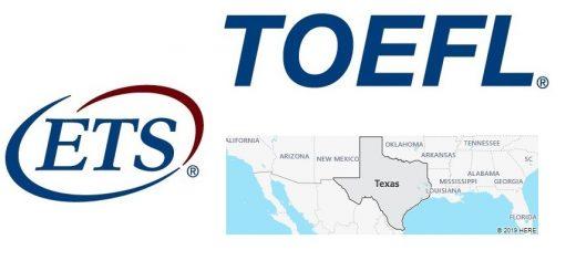 TOEFL Test Centers in Texas