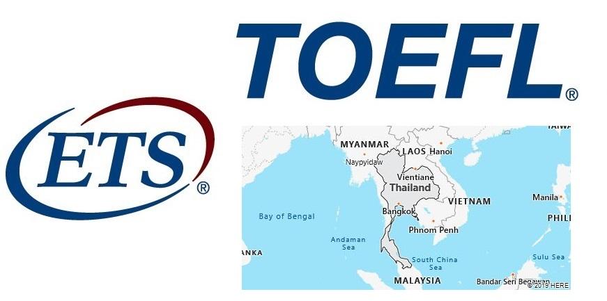 TOEFL Test Centers in Thailand