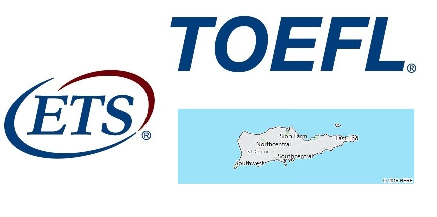 TOEFL Test Centers in U.S. Virgin Islands