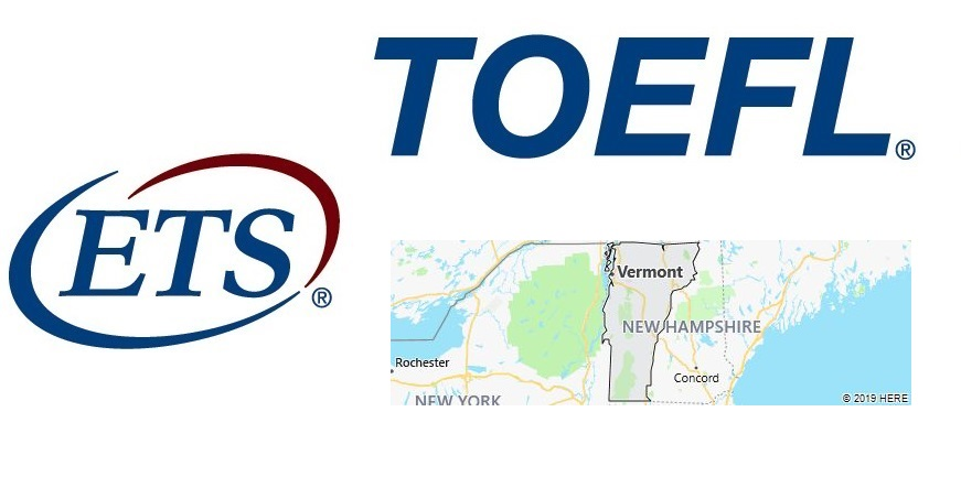 TOEFL Test Centers in Vermont