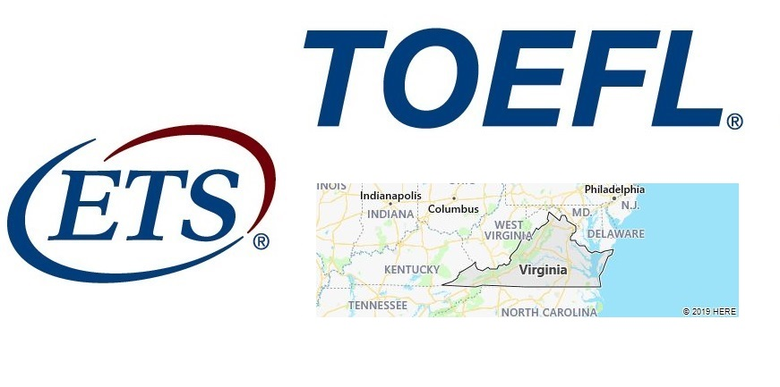 TOEFL Test Centers in Virginia, USA