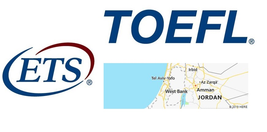 TOEFL Test Centers in West Bank