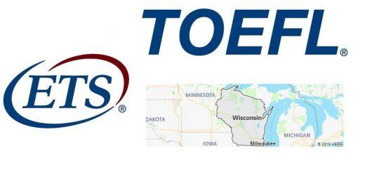 TOEFL Test Centers in Wisconsin