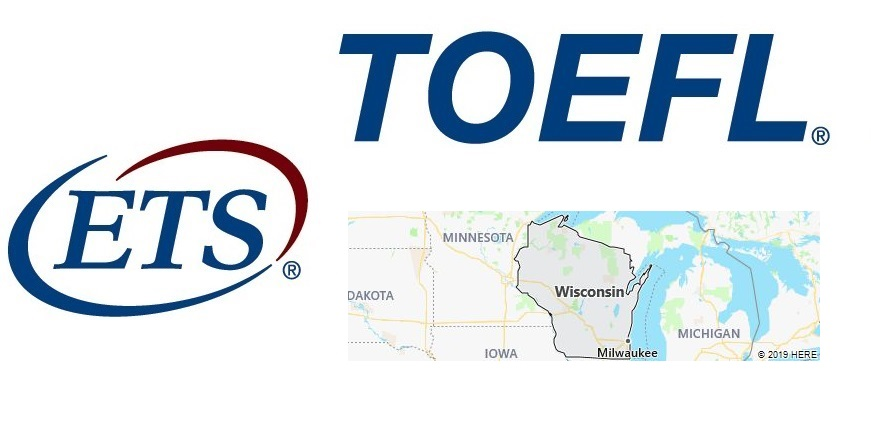 TOEFL Test Centers in Wisconsin, USA