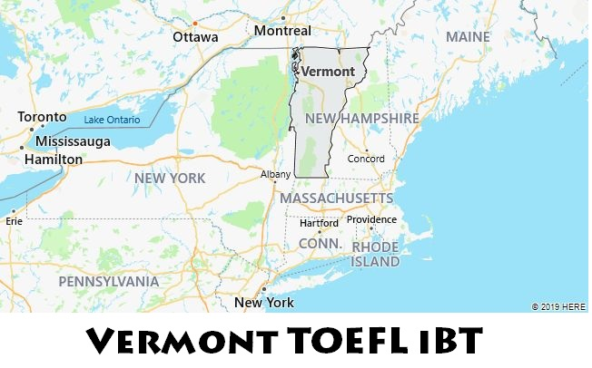 Vermont TOEFL iBT