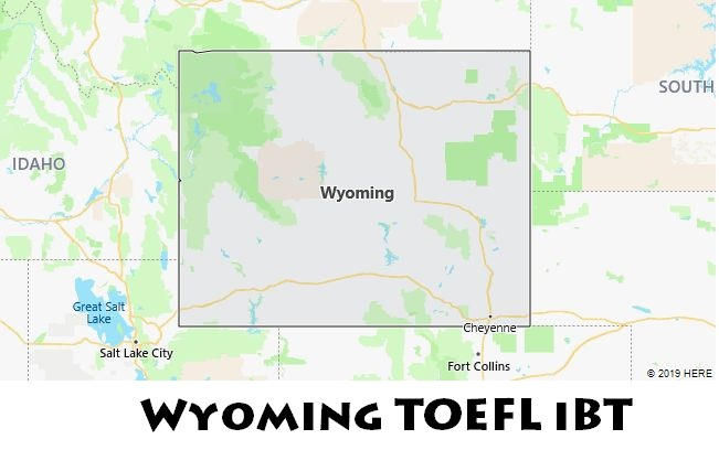 Wyoming TOEFL iBT