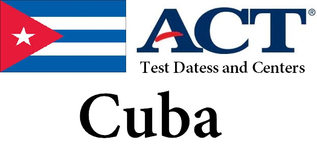 ACT Testing Locations in Cuba