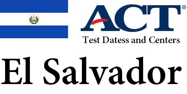 ACT Testing Locations in El Salvador