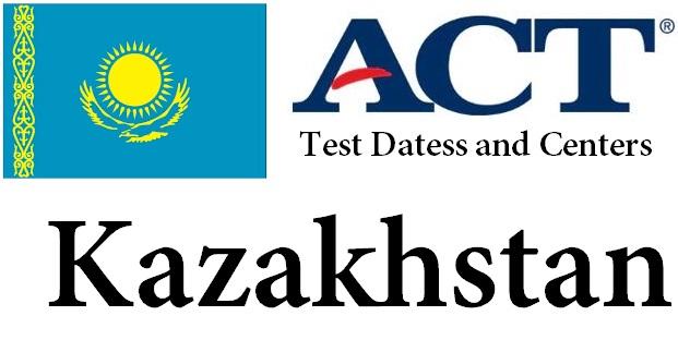 ACT Testing Locations in Kazakhstan