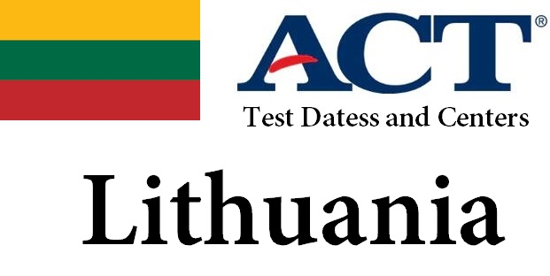 ACT Testing Locations in Lithuania