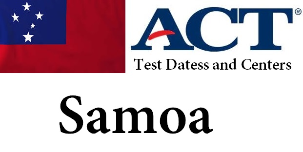 ACT Testing Locations in Samoa