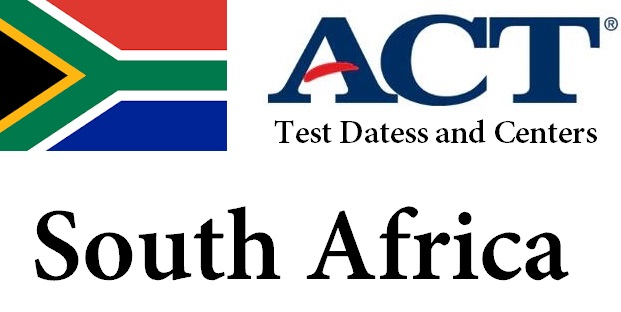 ACT Testing Locations in South Africa