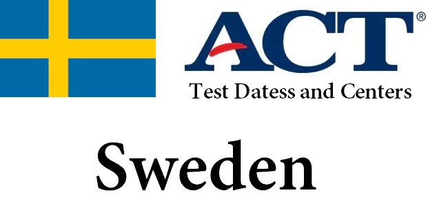 ACT Testing Locations in Sweden