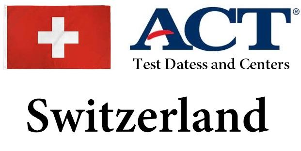 ACT Testing Locations in Switzerland