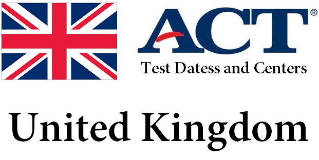 ACT Testing Locations in United Kingdom