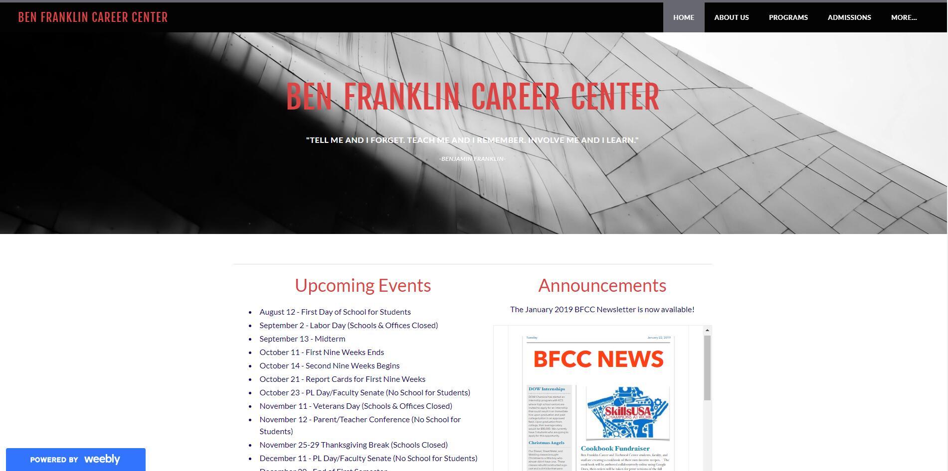 Ben Franklin Career Center