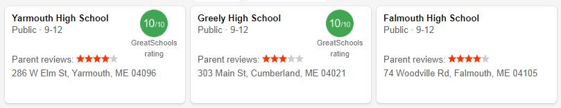 Best High Schools in Maine