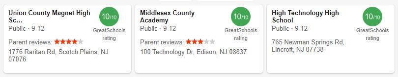 Best High Schools in New Jersey