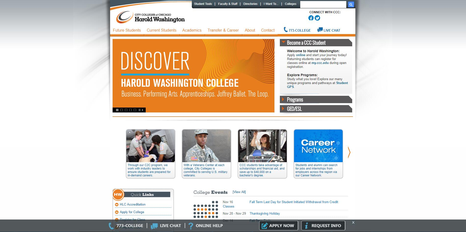 City Colleges of Chicago-Harold Washington College