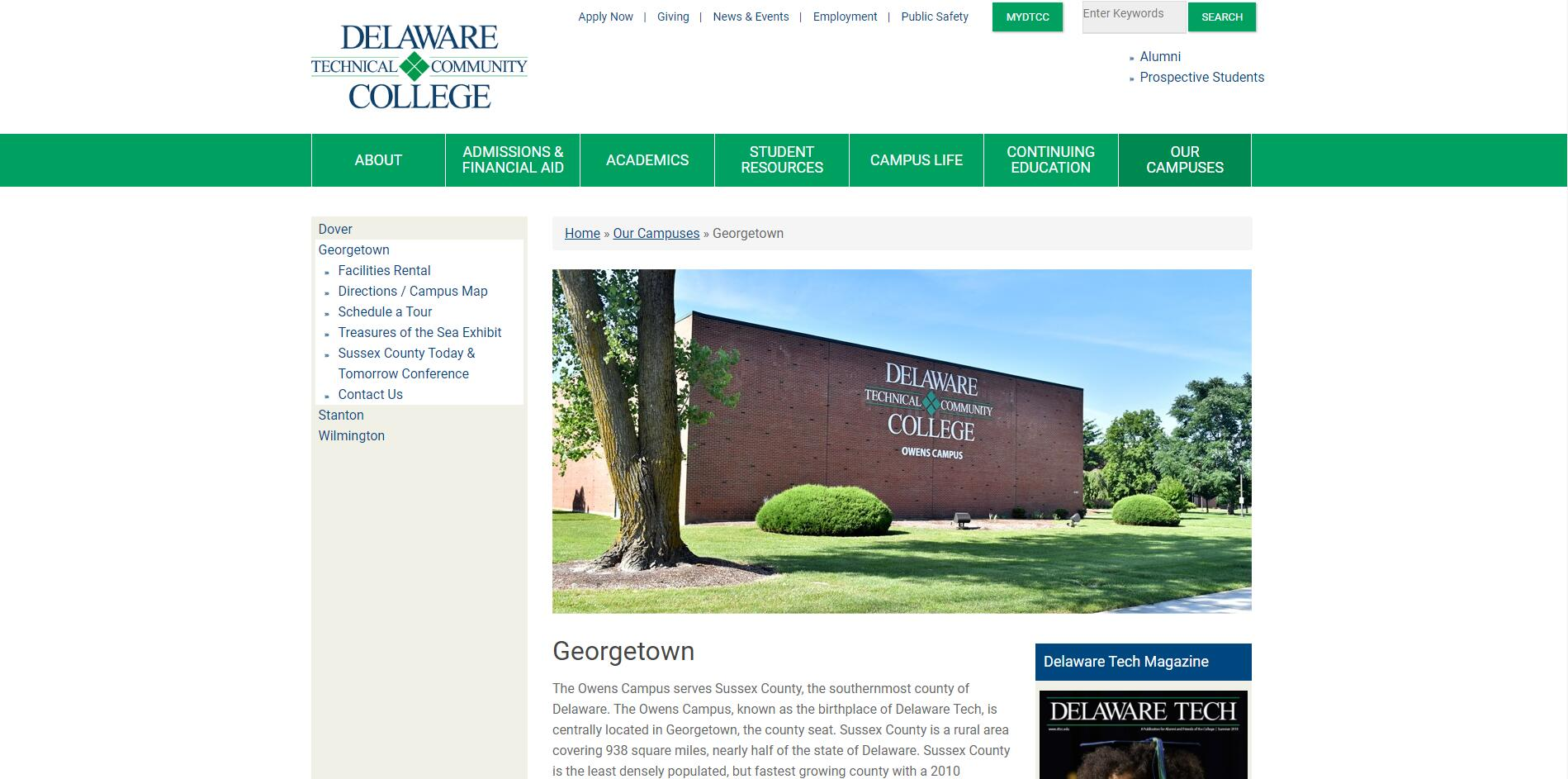 Delaware Technical and Community College-Owens