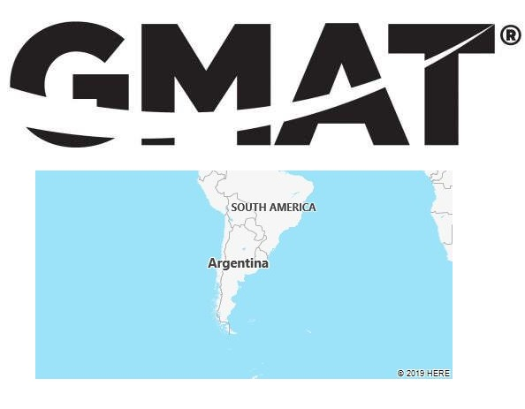 GMAT Test Centers in Argentina