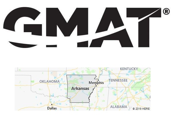 GMAT Test Centers in Arkansas