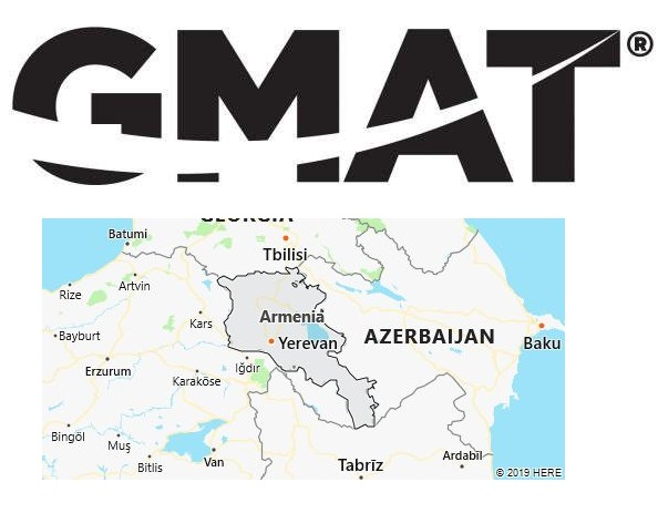 GMAT Test Centers in Armenia