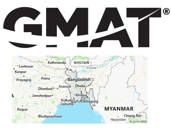 GMAT Test Centers in Bangladesh