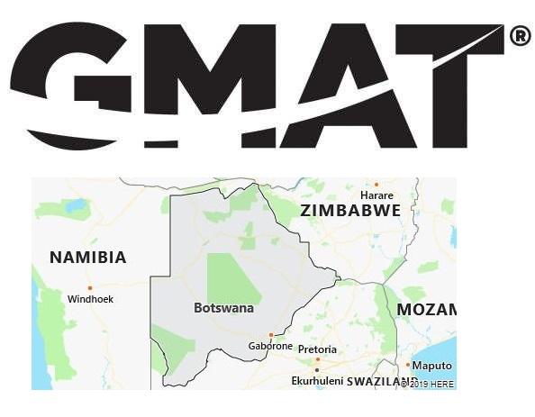 GMAT Test Centers in Botswana