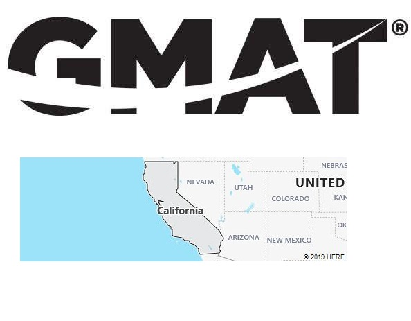 GMAT Test Centers in California