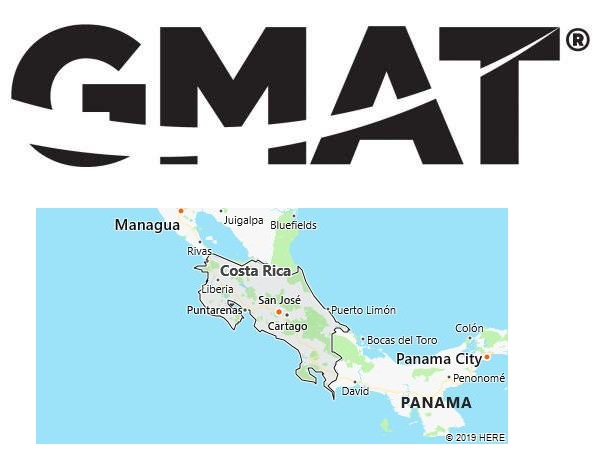 GMAT Test Centers in Costa Rica