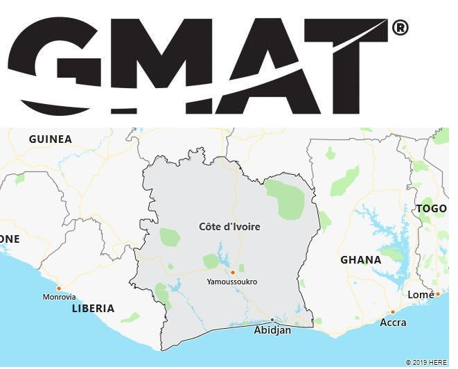 GMAT Test Centers in Cote d'Ivoire