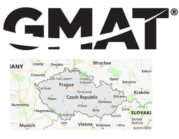 GMAT Test Centers in Czech Republic