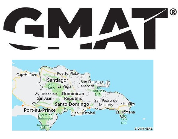 GMAT Test Centers in Dominican Republic