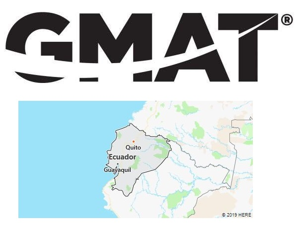 GMAT Test Centers in Ecuador