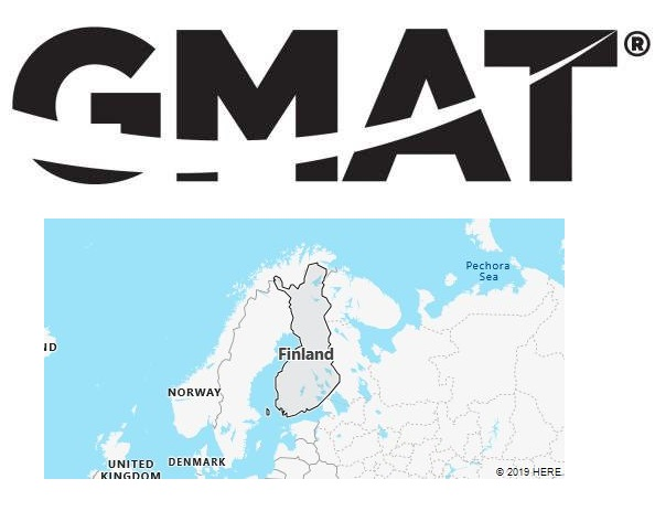 GMAT Test Centers in Finland