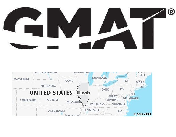 GMAT Test Centers in Illinois