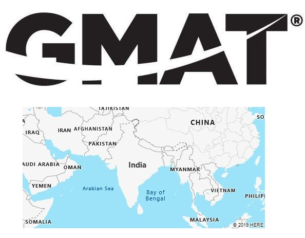 GMAT Test Centers in India