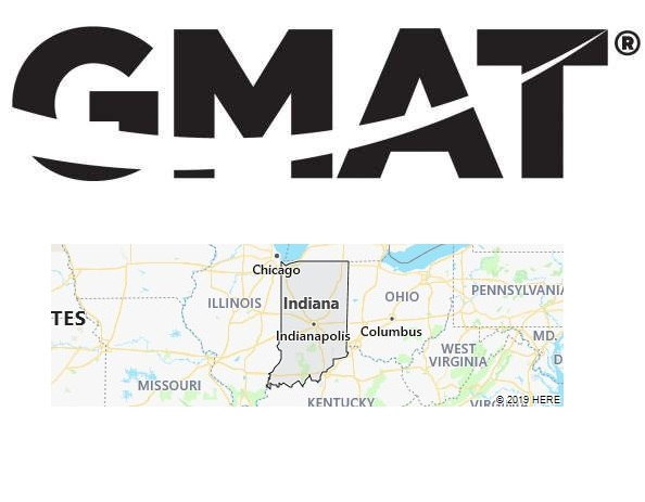 GMAT Test Centers in Indiana