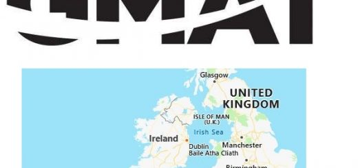 GMAT Test Centers in Ireland