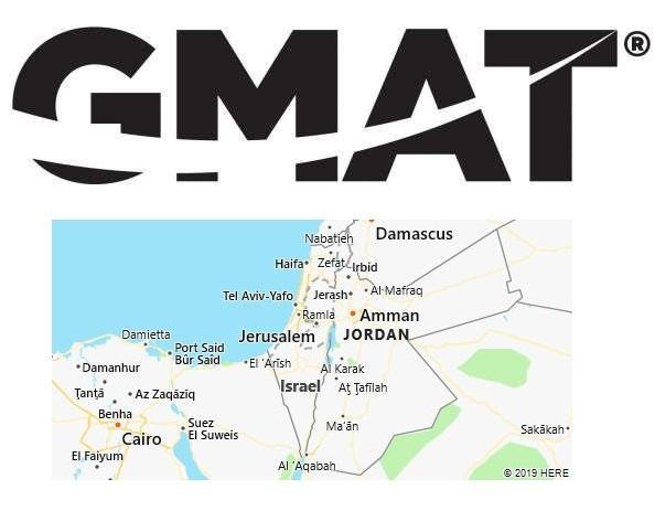 GMAT Test Centers in Israel