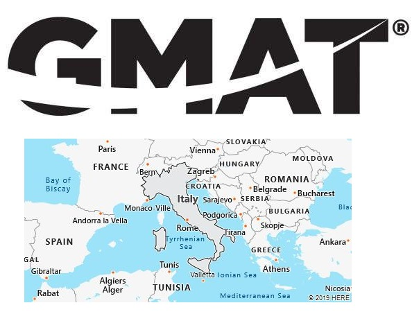 GMAT Test Centers in Italy