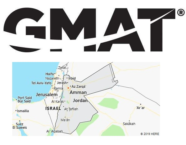GMAT Test Centers in Jordan