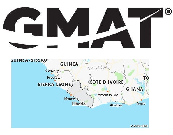 GMAT Test Centers in Liberia