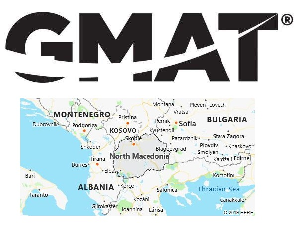 GMAT Test Centers in Macedonia