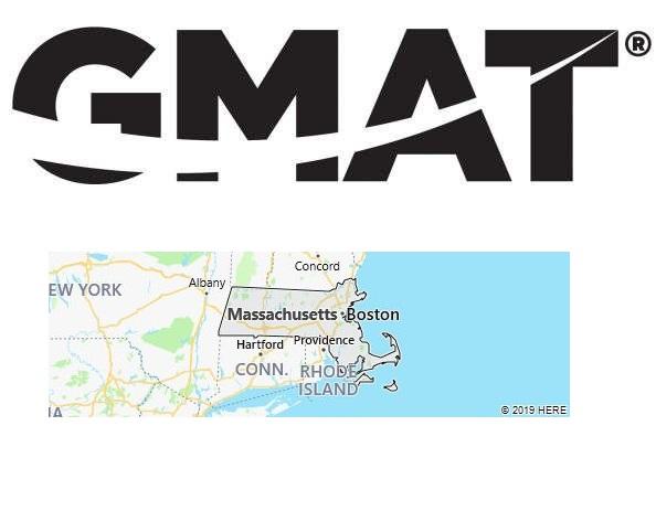 GMAT Test Centers in Massachusetts